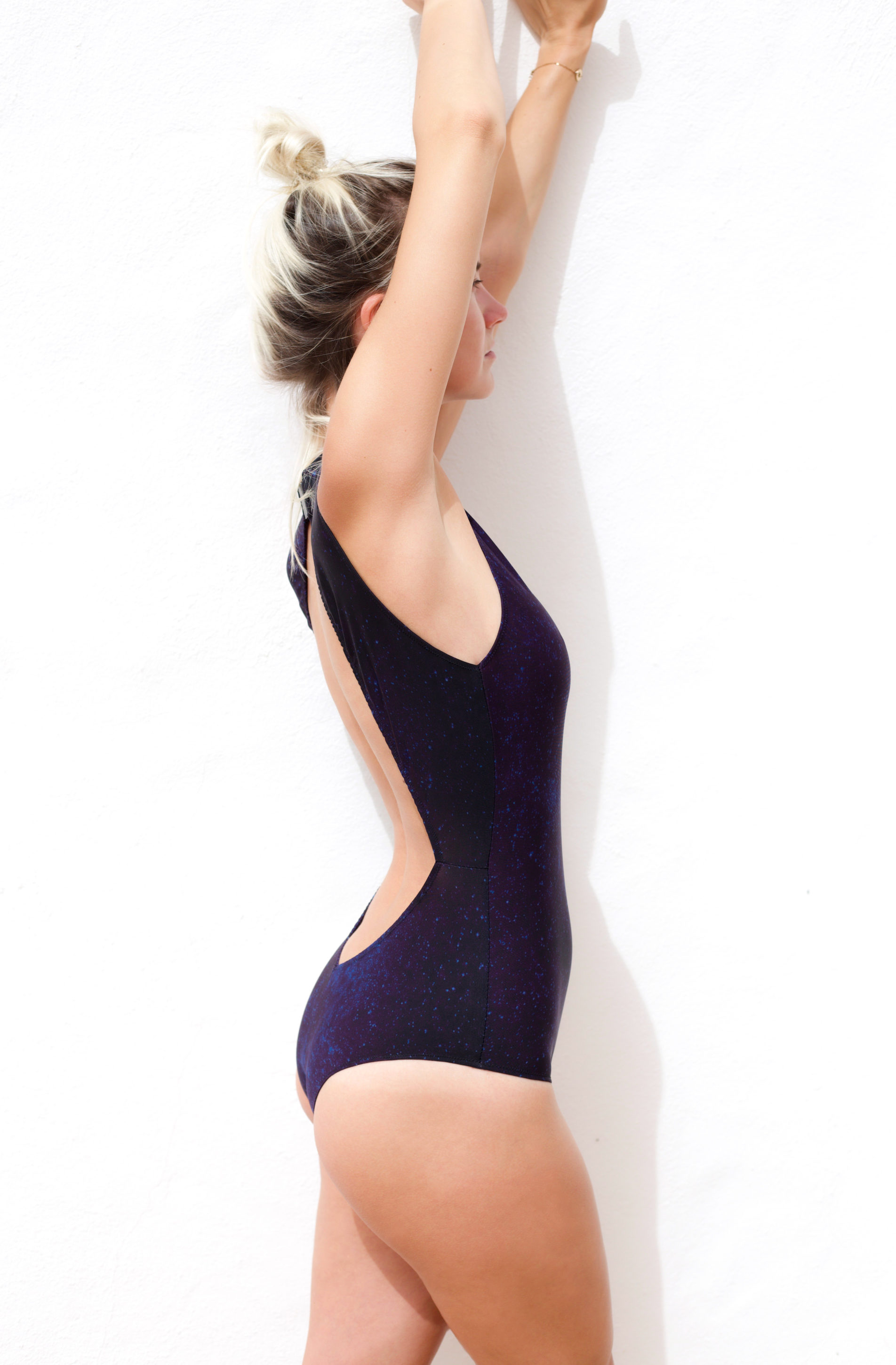 Piwari Sustainable Swimwear Swimsuit Southern Cross Night Sky