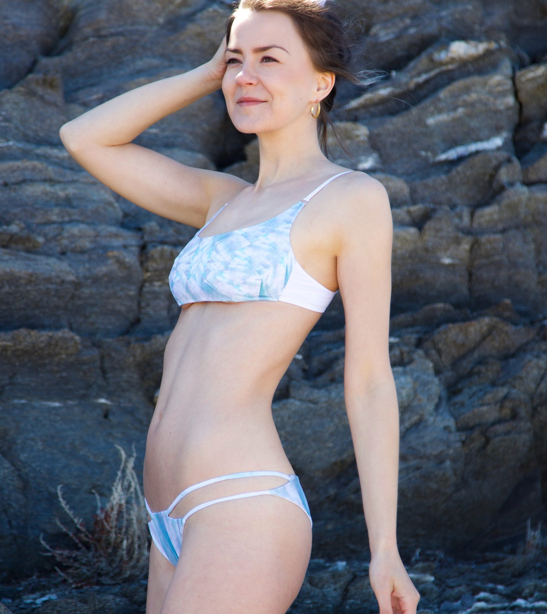Piwari Sustainable Swimwear Bikini Paua