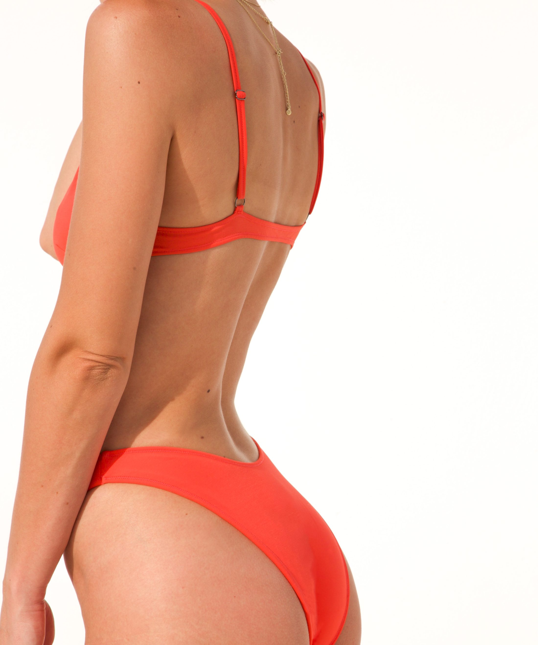 Piwari Sustainable Swimwear Bikini Banana Squash