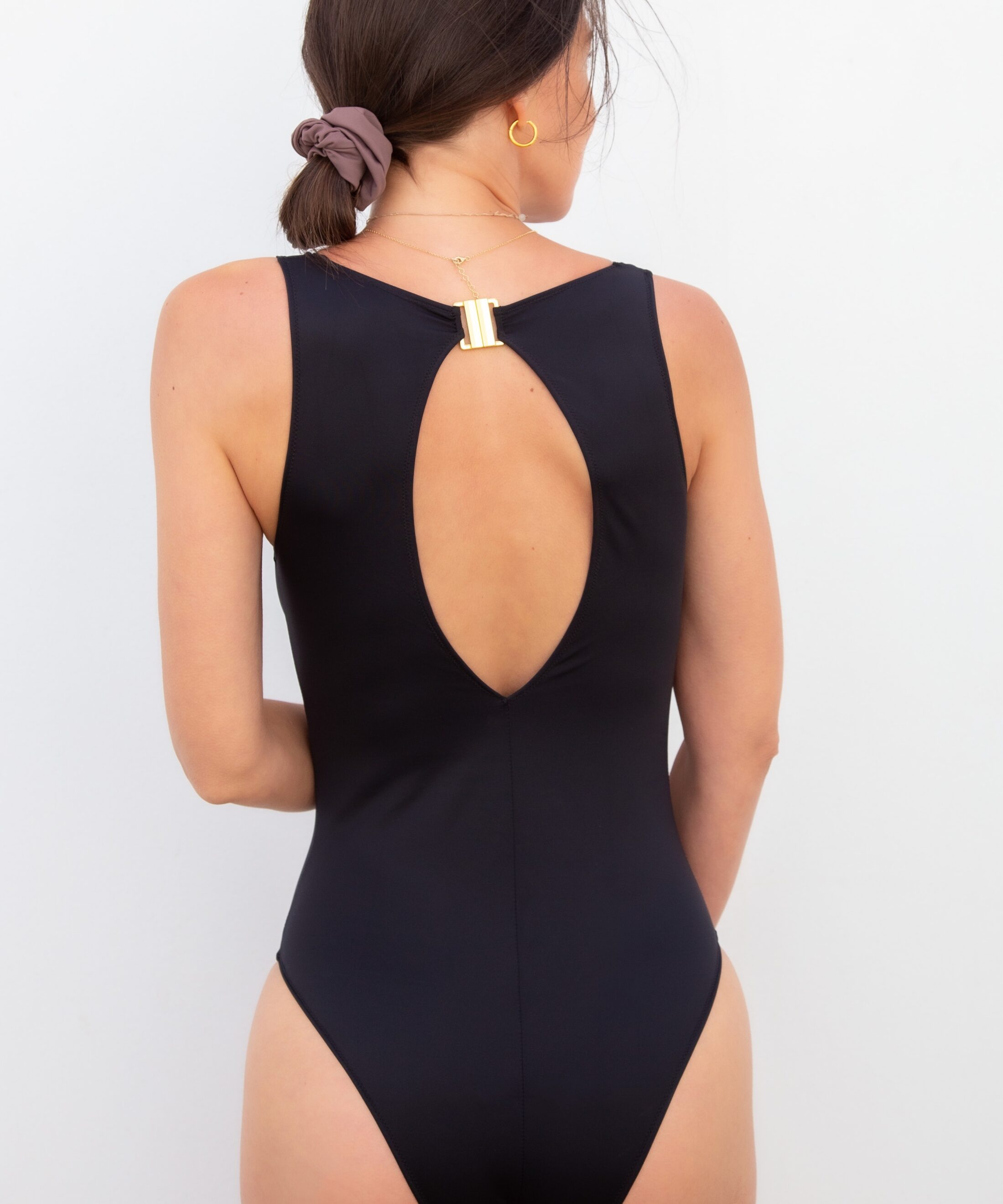 Piwari Sustainable Swimwear Ela Swimsuit Black