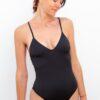 Piwari Sustainable Swimwear Helene Swimsuit Black