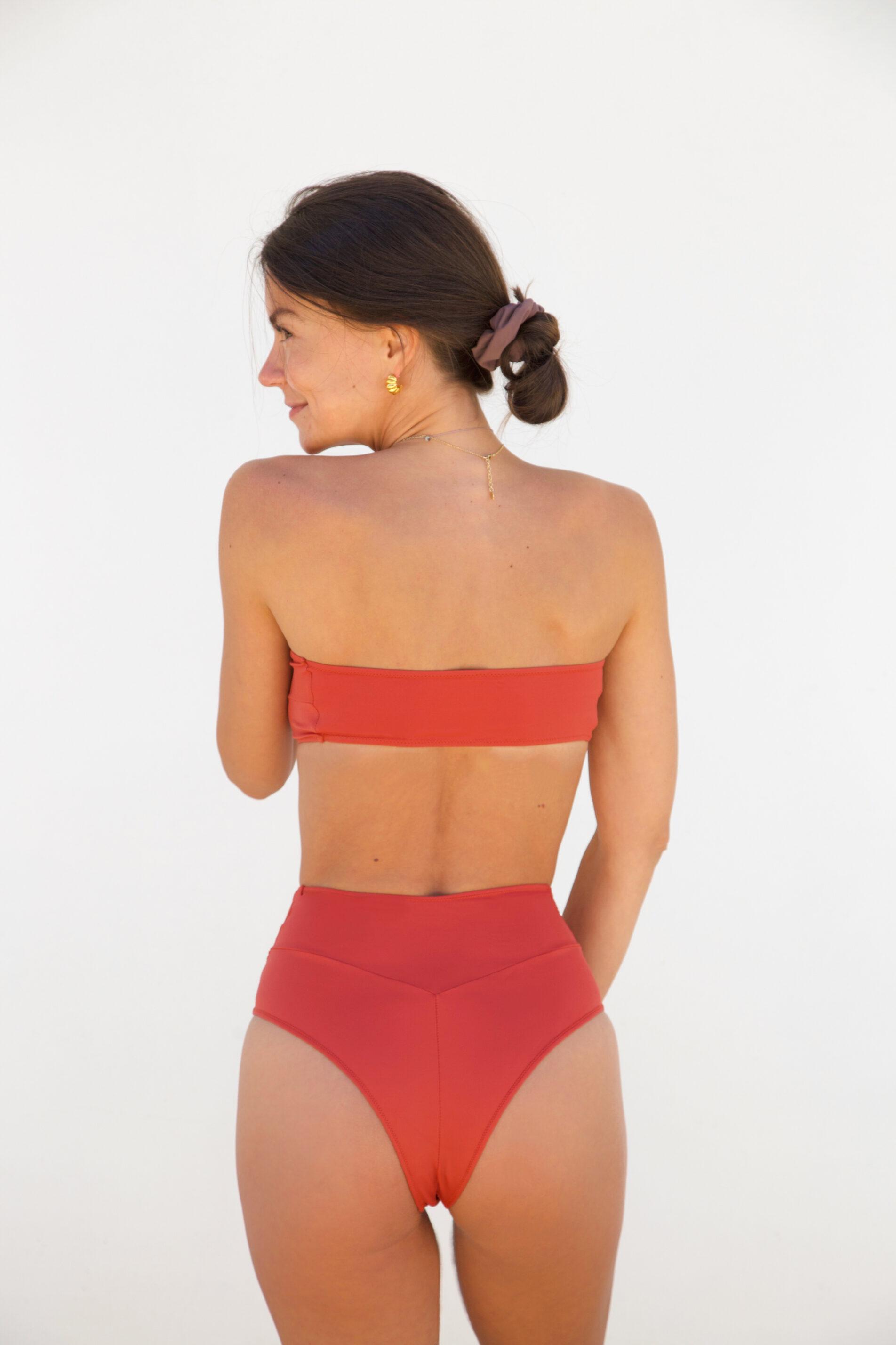 Piwari Sustainable Swimwear Bikini Empress Riad Back