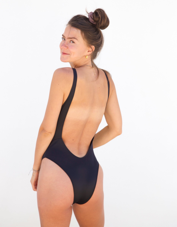 Piwari Sustainable Swimwear Swimsuit Pahi Back